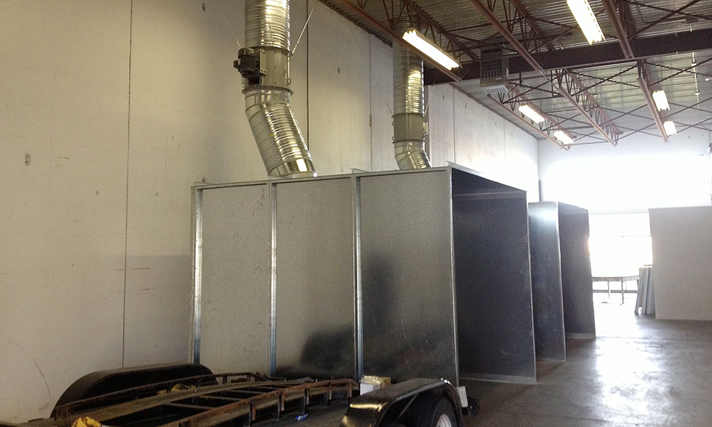 Dust Collection A Touch Of Brass Metal Fabrication